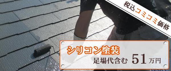 屋根 シリコン塗装プラン