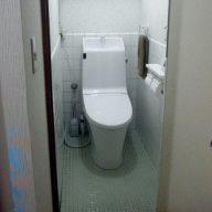 リフォーム後のトイレ LIXIL アメージュZ