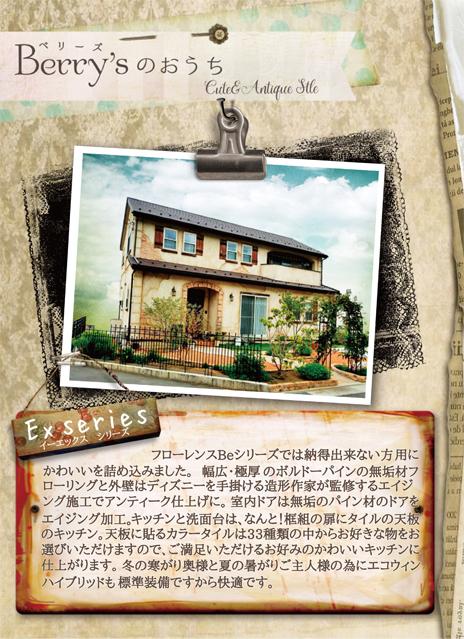 エイジングがかわいい家 フローレンス-Ex