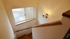 笛吹市 エイジングのお家 階段