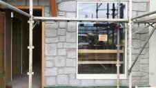 甲府市 エイジング加工のお家 外部工事