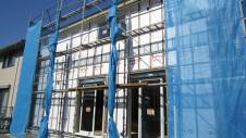 笛吹市 塗り壁のお家 外壁工事