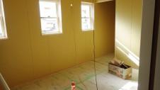 笛吹市 パイン無垢材のお家 2F部屋工事