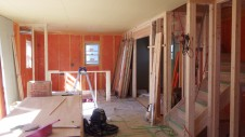 笛吹市 塗り壁のお家 内装工事