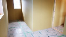 笛吹市 塗り壁のお家 内装工事 2F部屋-1
