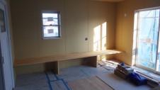 甲府市 塗り壁のお家 内装工事