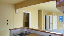 笛吹市 塗り壁のお家 内装工事 キッチンまわり