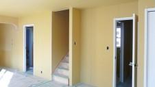 笛吹市 塗り壁のお家 内装工事 リビング-2
