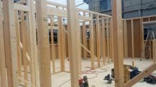 建て方工事1