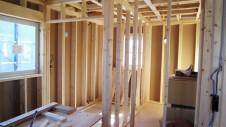 笛吹市 塗り壁のお家 建て方