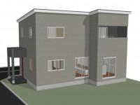 昭和町 サイディングのお家 完成予想図