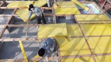 昭和町 サイディングのお家 土台敷き2