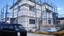昭和町 サイディングのお家 外装工事