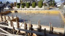 昭和町 サイディングのお家 基礎工事4