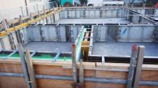 昭和町 サイディングのお家 基礎工事5
