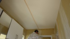 昭和町 サイディングのお家 壁紙下地工事