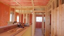 甲斐市 自然素材のナチュラルモダンの家 内装工事