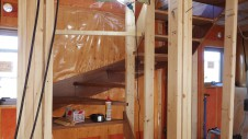 昭和町 サイディングのお家 階段工事