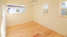 甲府市 塗り壁のお家 1F部屋2