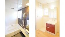 甲府市 塗り壁のお家 バス&バスルーム