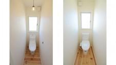 中央市 モダンなお家 トイレ