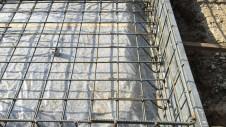 山梨市 塗り壁とエイジング加工のかわいい家 基礎工事3