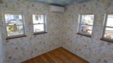 甲斐市 落ち着いた雰囲気の漆喰塗り壁のお家 部屋