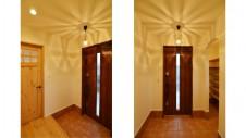 甲斐市 自然素材のナチュラルモダンのお家 玄関