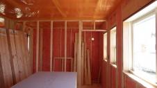 山梨市 塗り壁とエイジング加工のかわいい家 内装工事3