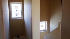 山梨市 塗り壁とエイジング加工のかわいい家 内装工事8