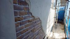 笛吹市石和町 エイジング加工のキュートな家 外装工事10