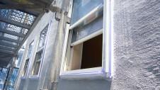 甲府市 漆喰塗り壁のかわいいお家 外装工事5