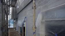 笛吹市石和町 エイジング加工のキュートな家 外装工事6