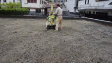 甲府市 エイジング加工のお家 地盤調査2