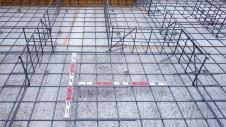 笛吹市石和町 エイジング加工のキュートなお家 基礎配筋工事2