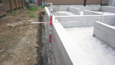 笛吹市石和町 エイジング加工のキュートなお家 基礎工事6