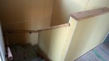 笛吹市石和町 エイジング加工のキュートな家 内装工事10