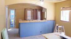甲府市 漆喰塗り壁のかわいいお家 内装工事12