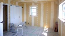 甲府市 漆喰塗り壁のかわいいお家 内装工事16