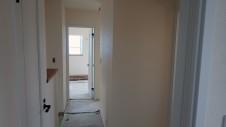 甲府市 漆喰塗り壁のかわいいお家 内装工事18