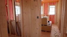 甲府市 漆喰塗り壁のかわいいお家 内装工事3