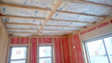 甲府市 漆喰塗り壁のかわいいお家 内装工事5