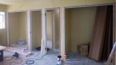 甲府市 漆喰塗り壁のかわいいお家 内装工事7