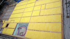 甲府市山宮に建つエイジング加工を施した大きなお家 土台敷き3