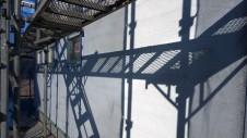 甲斐市龍地 漆喰仕上げのキュートなお家 外装工事4