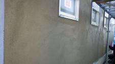 甲斐市龍地 漆喰仕上げのキュートなお家 外装工事5