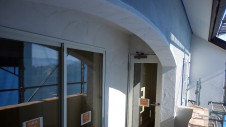 甲斐市龍地 漆喰仕上げのキュートなお家 外装工事6
