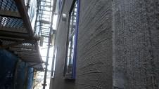 甲府市山宮に建つエイジング加工を施した大きなお家 外装工事9