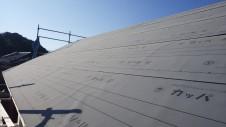 中央市浅利 自然素材の漆喰外壁のお家 上棟6