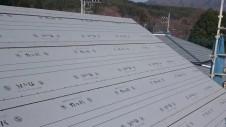 北杜市高根町 漆喰とウッドデッキのお家 上棟8